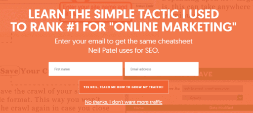 Online Marketing Neil Patel