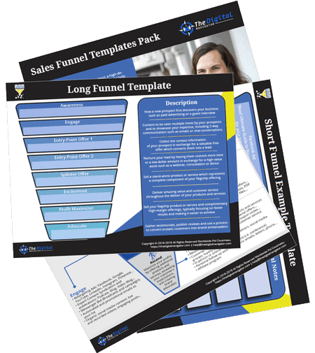 PDF Template of Sales Funnel Stages